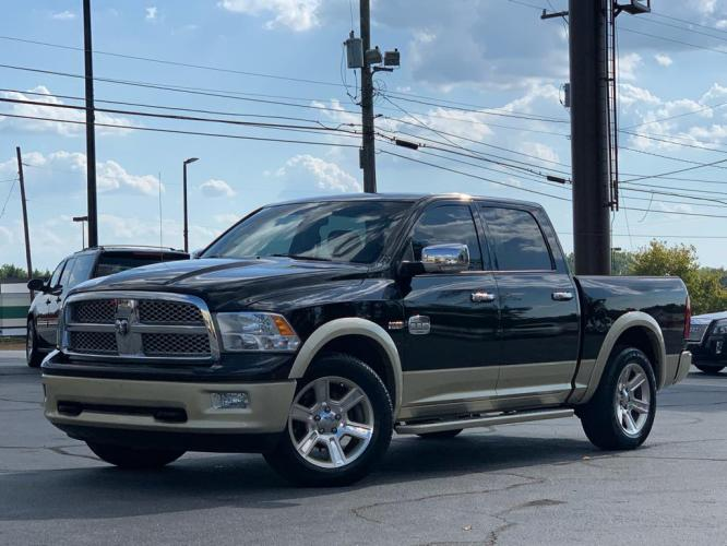 2012 BLACK DODGE RAM 1500 Laramie LONGHORN (1C6RD6PT0CS) with an 5.7L engine, Automatic transmission, located at 1342 West Wade Hampton Blvd. Greer, SC 29650, Greer, SC 29650, SC, 29650, (864) 244-8880, 34.931980, -82.272987 - Photo #0