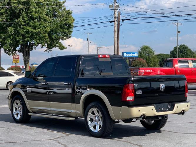 2012 BLACK DODGE RAM 1500 Laramie LONGHORN (1C6RD6PT0CS) with an 5.7L engine, Automatic transmission, located at 1342 West Wade Hampton Blvd. Greer, SC 29650, Greer, SC 29650, SC, 29650, (864) 244-8880, 34.931980, -82.272987 - Photo #45