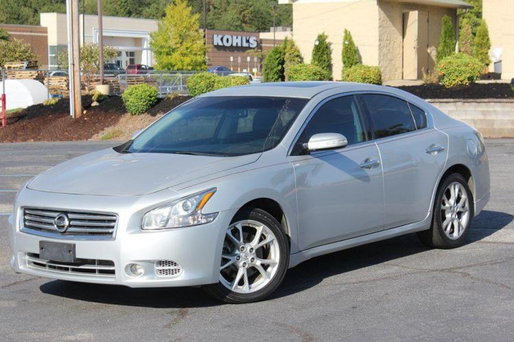 2014 SILVER NISSAN MAXIMA S (1N4AA5AP7EC) with an 3.5L engine, Automatic transmission, located at 1342 West Wade Hampton Blvd. Greer, SC 29650, Greer, SC 29650, SC, 29650, (864) 244-8880, 34.931980, -82.272987 - Photo #0